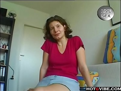 Vintage mature toys her pussy