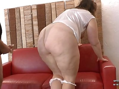 Young amateur BBW french slut analyzed and fist fucked for her 1st casting couch