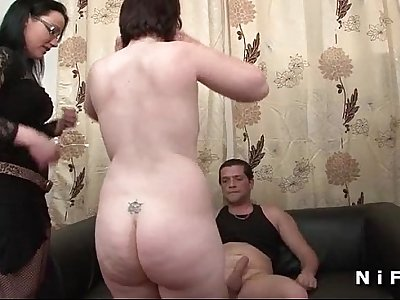 Amateur french couple having anal sex at Candice porn casting