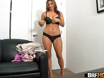 Big tits MILF latina first time facial.2