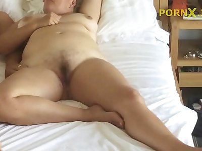 Son fucking his mom - Hidden Cam in mommys room