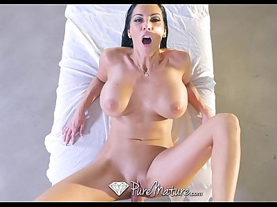 PureMature - Big boobs milf Veronica Rayne gets fucked
