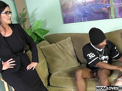 Mom Summer Rae and Sammy Brooks share a BBC